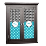 Dots & Zebra Cabinet Decal - Custom Size (Personalized)