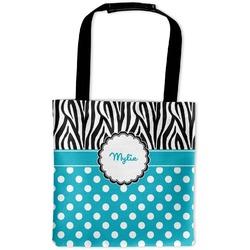 Dots & Zebra Auto Back Seat Organizer Bag (Personalized)