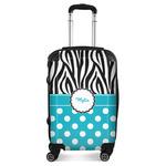 Dots & Zebra Suitcase (Personalized)