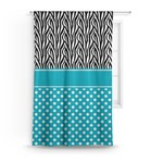 Dots & Zebra Curtain (Personalized)
