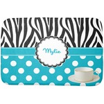 Dots & Zebra Dish Drying Mat (Personalized)