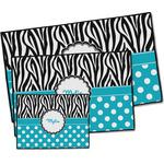 Dots & Zebra Door Mat (Personalized)