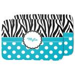 Dots & Zebra Dish Drying Mat (Personalized)