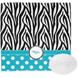 Dots & Zebra Wash Cloth (Personalized)