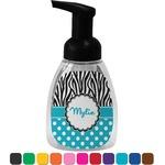 Dots & Zebra Foam Soap Dispenser (Personalized)