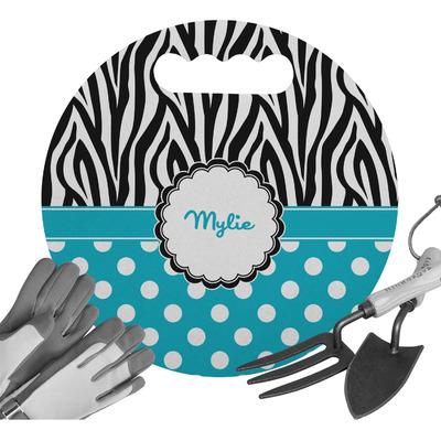 Dots & Zebra Gardening Knee Cushion (Personalized)