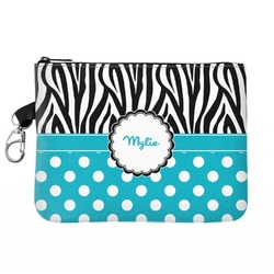 Dots & Zebra Golf Accessories Bag (Personalized)