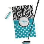 Dots & Zebra Golf Towel Gift Set (Personalized)