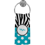 Dots & Zebra Hand Towel - Full Print (Personalized)