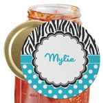 Dots & Zebra Jar Opener (Personalized)
