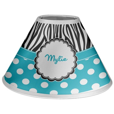 Dots & Zebra Coolie Lamp Shade (Personalized)