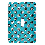 Dots & Zebra Light Switch Cover (Single Toggle) (Personalized)