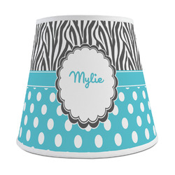 Dots & Zebra Empire Lamp Shade (Personalized)