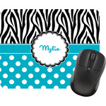 Dots & Zebra Mouse Pads (Personalized)