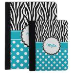 Dots & Zebra Padfolio Clipboard (Personalized)