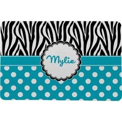 Dots & Zebra Comfort Mat (Personalized)