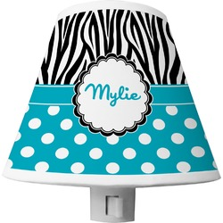 Dots & Zebra Shade Night Light (Personalized)