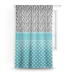 Dots & Zebra Sheer Curtains (Personalized)