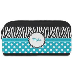 Dots & Zebra Shoe Bag (Personalized)
