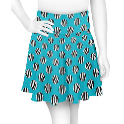 Dots & Zebra Skater Skirt (Personalized)