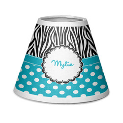 Dots & Zebra Chandelier Lamp Shade (Personalized)