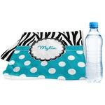 Dots & Zebra Sports & Fitness Towel (Personalized)