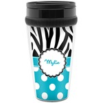 Dots & Zebra Travel Mugs (Personalized)