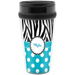 Dots & Zebra Travel Mugs (Personalized)