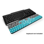 Dots & Zebra Keyboard Wrist Rest (Personalized)