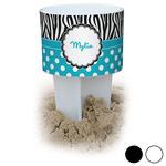 Dots & Zebra Beach Spiker Drink Holder (Personalized)