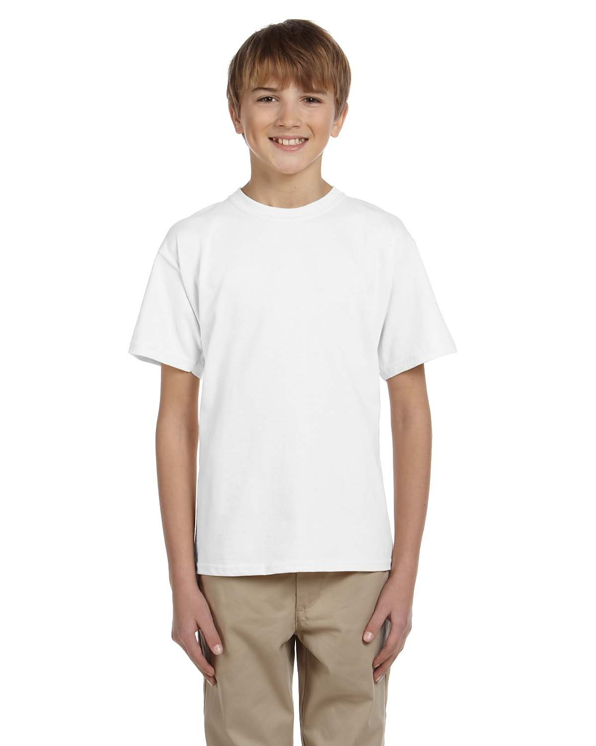 Blank kid 39 s white t shirt you customize it for White blank t shirt