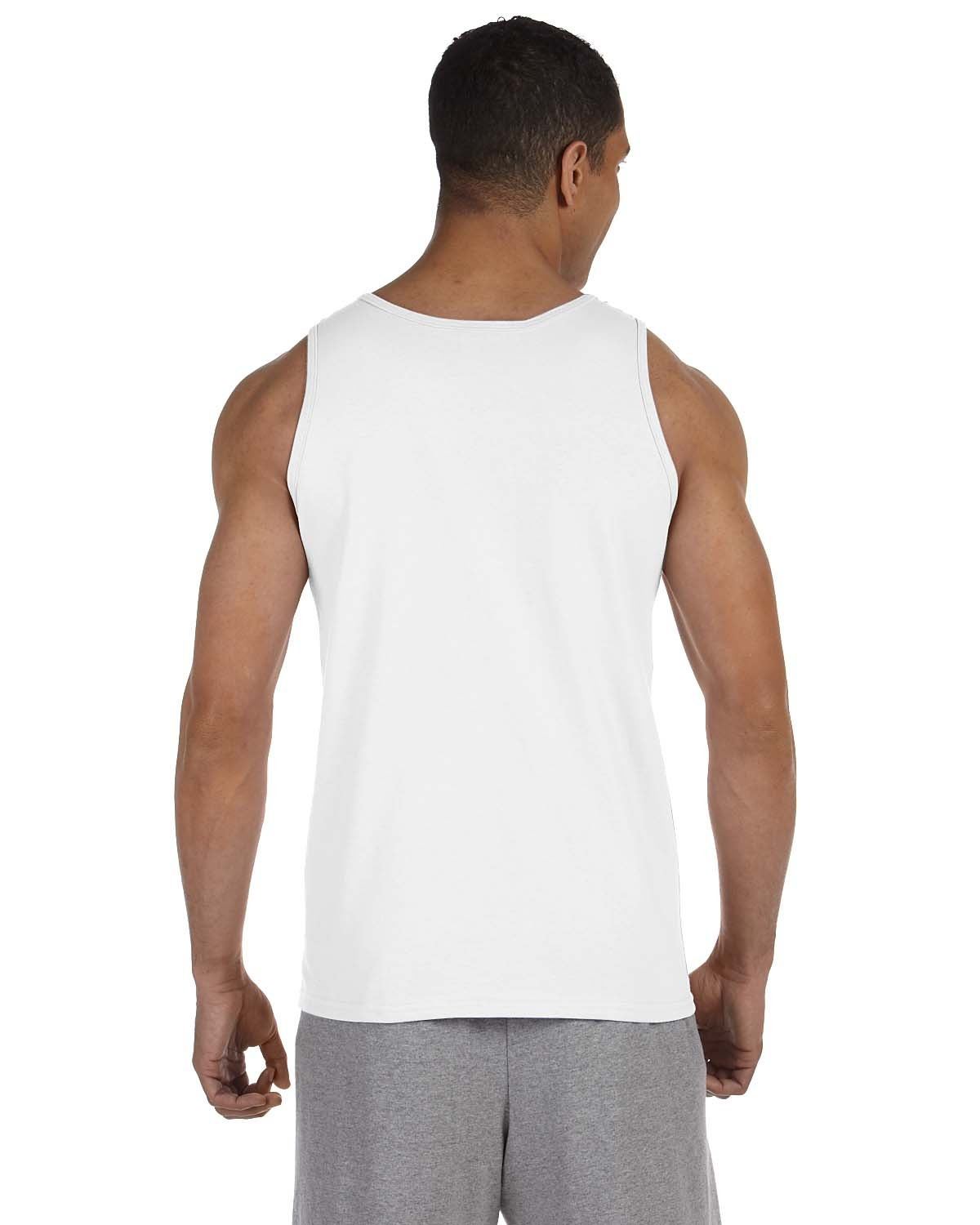 3 Men White Tank Top % Cotton A-Shirt Wife Beater Ribbed Undershirt Size S-8X See more like this PROCLUB BIG AND TALL MENS SLEEVELESS TANK TOP MUSCLE SHIRTS T SHIRTS TEE CASUAL Brand New.