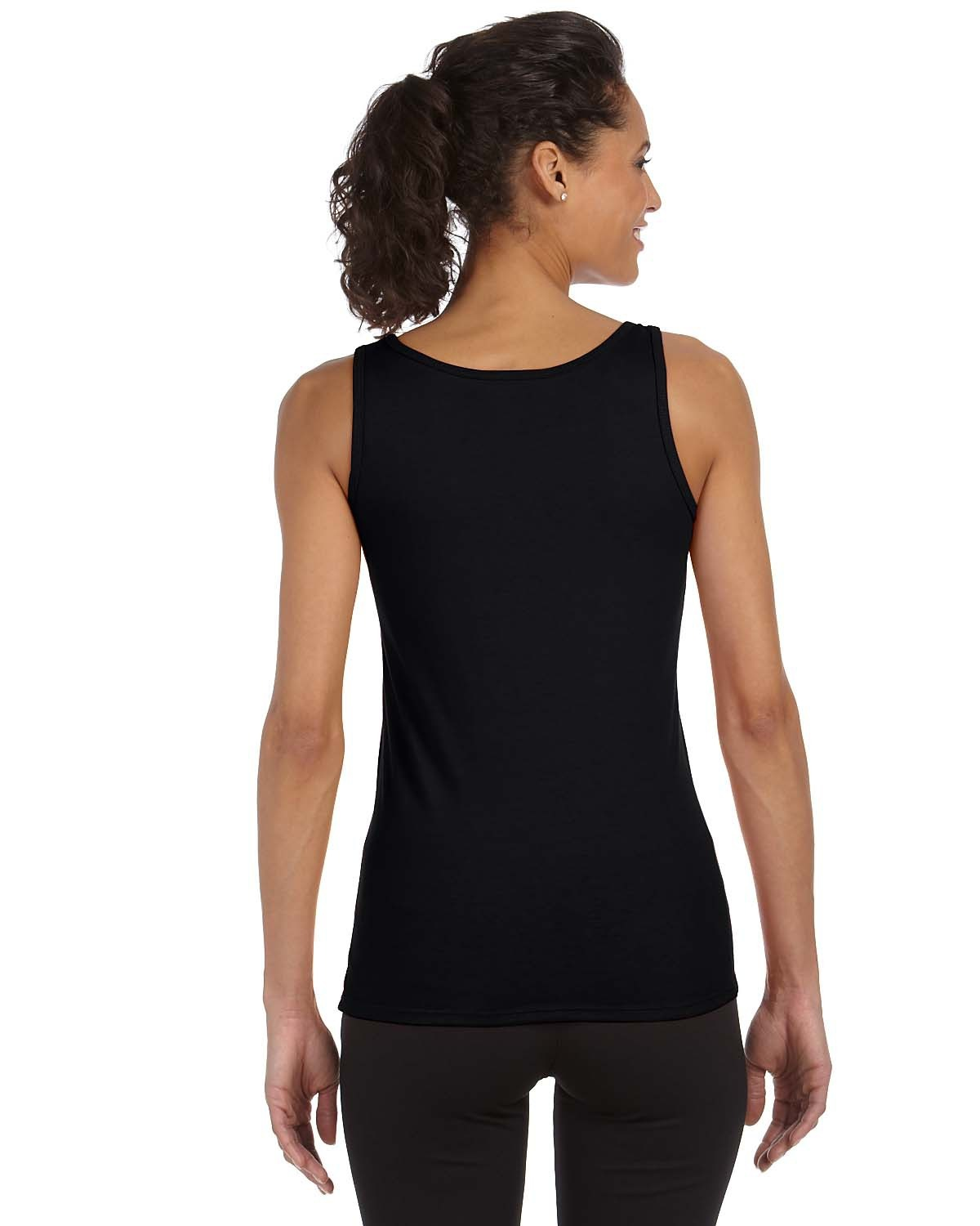 Blank Women S Black Tank Top Rnk Shops