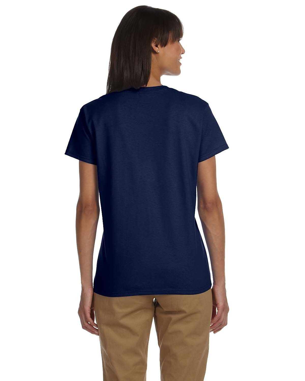 Blank Women's Navy T-Shirt - You Customize It