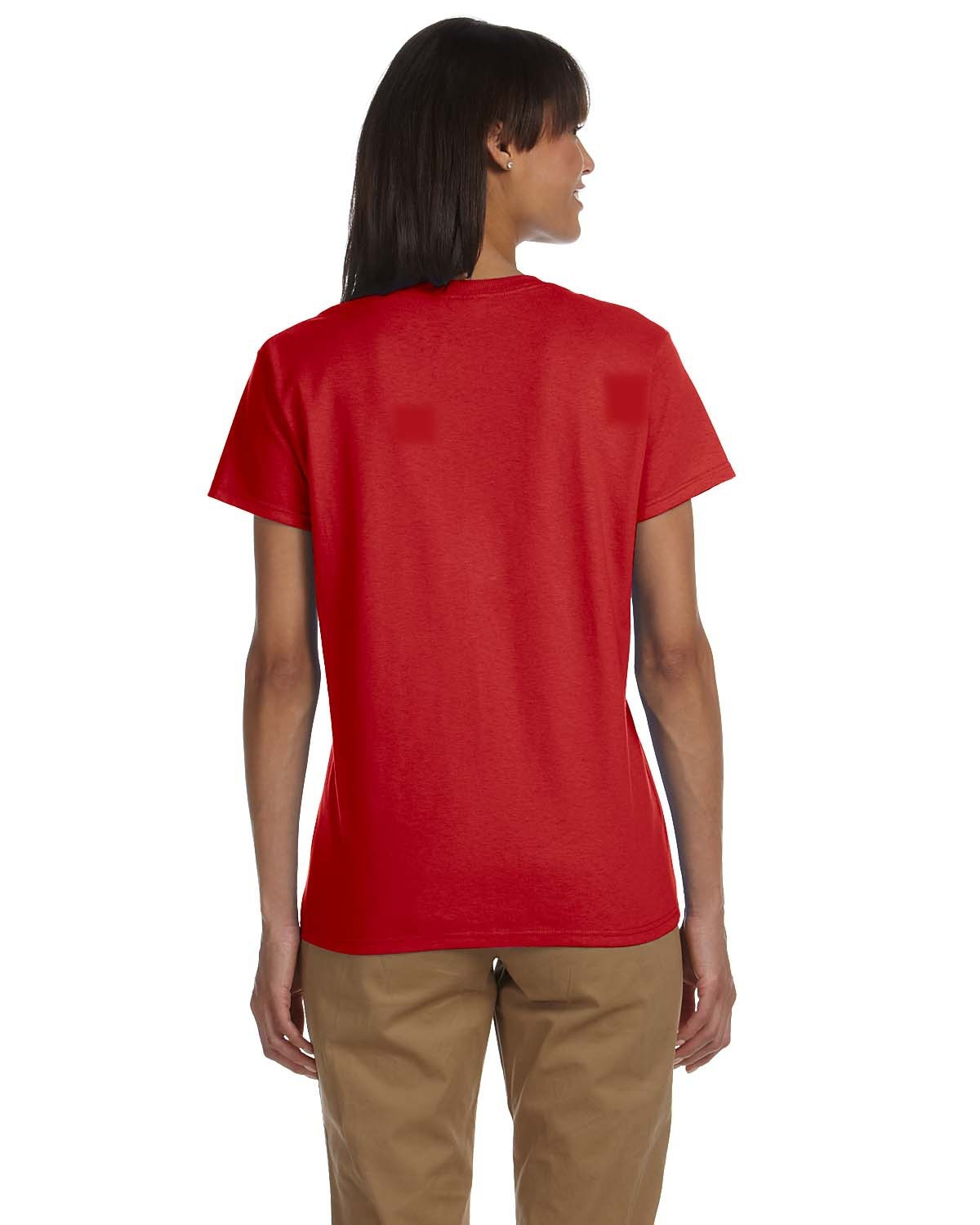 Blank Women S Red T Shirt Rnk Shops