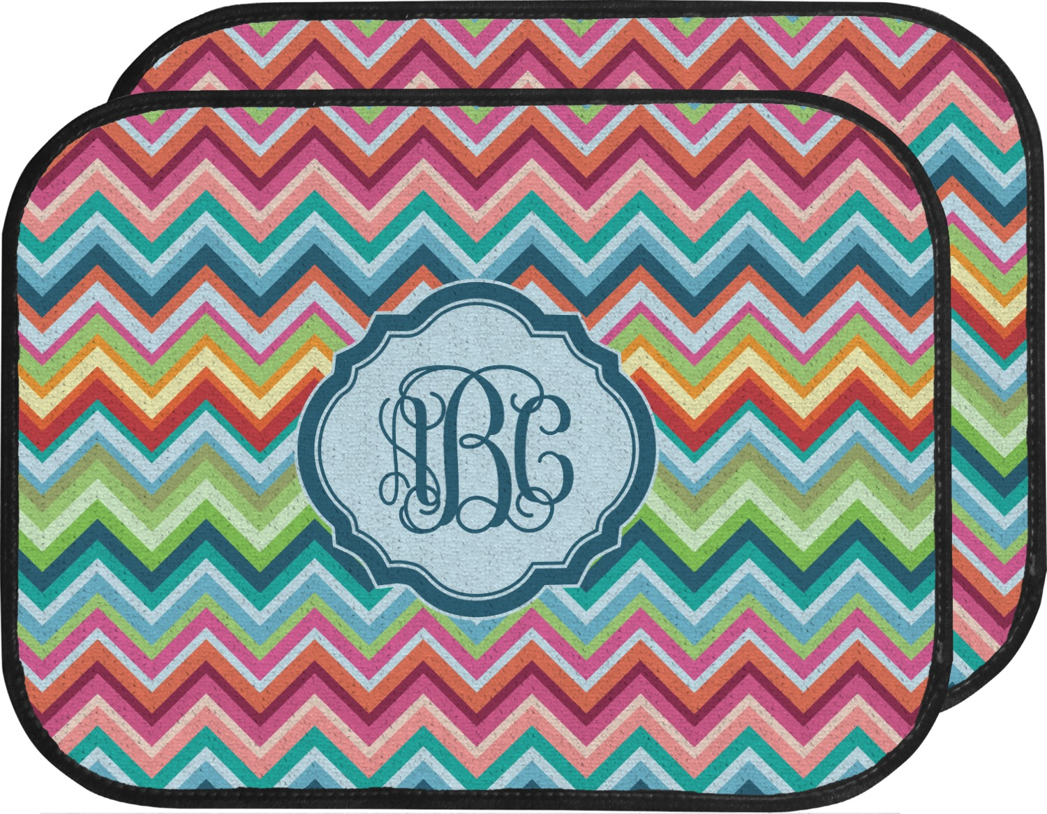 custom her carmats car for floral monogram chevron accessories pin mats monogrammed floor