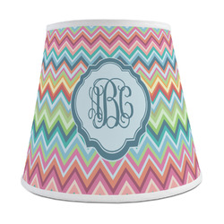 Retro Chevron Monogram Empire Lamp Shade (Personalized)