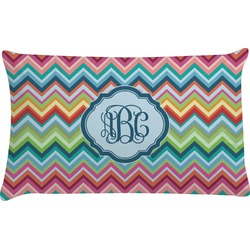 Retro Chevron Monogram Pillow Case (Personalized)