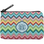 Retro Chevron Monogram Rectangular Coin Purse (Personalized)