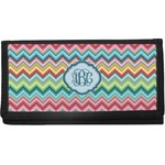 Retro Chevron Monogram Checkbook Cover (Personalized)