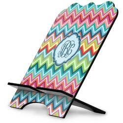 Retro Chevron Monogram Stylized Tablet Stand (Personalized)