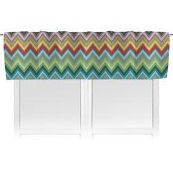 Retro Chevron Monogram Valance (Personalized)