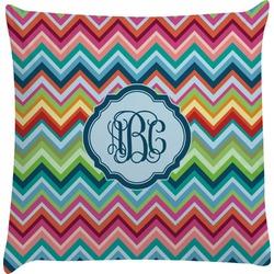 Retro Chevron Monogram Decorative Pillow Case (Personalized)