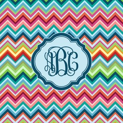 Retro Chevron Monogram