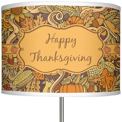 """Thanksgiving 13"""" Drum Lamp Shade (Personalized)"""
