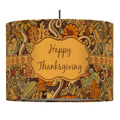 Thanksgiving Drum Pendant Lamp (Personalized)
