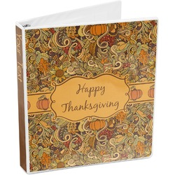 Thanksgiving 3-Ring Binder (Personalized)