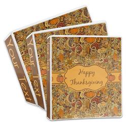 Thanksgiving 3-Ring Binder (Personalized)