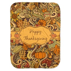 Thanksgiving Baby Swaddling Blanket (Personalized)