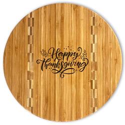 Thanksgiving Bamboo Cutting Board